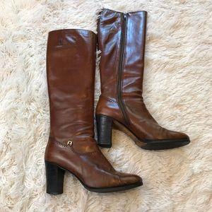 Salvatore Ferragamo Brown Boots Size 7AA